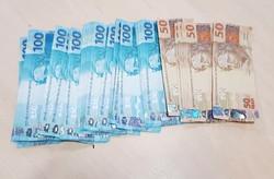 Homem é preso pela Polícia Federal com R$ 10 mil em notas falsas (Foto: Divulgação)