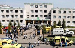 Ao menos sete mortos em tiroteio em escola na região central da Rússia (Foto: Roman Kruchinin/AFP)