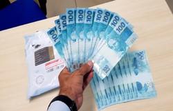 Homem é preso em Goiana com 2 mil reais em notas falsas (Foto: PF? Divulgação)