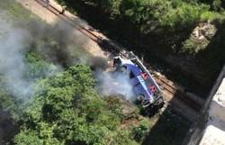 Polícia Civil confirma 17 mortos em acidente com ônibus em Minas (Foto: Reprodução)