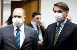 Fora da agenda, Bolsonaro se encontra com Aras, que decidirá sobre celular (Foto: Marcos Corrêa/PR)