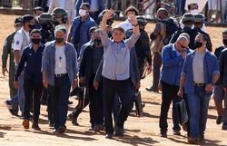 Policiais e militares terão isenção na importação de armas, diz Bolsonaro (Foto: Sergio LIMA / AFP)