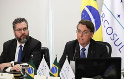 Bolsonaro quer expandir negociações comerciais do Mercosul (Foto: Marcos Correa/PR)