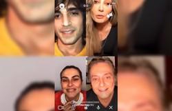 Cleo posta vídeo no qual ela e os irmãos desejam feliz Dia dos Pais a Fabio Júnior (Foto: Reprodução/Instagram.)