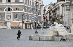 Itália perdeu meio milhão de habitantes em cinco anos (Foto:ANDREAS SOLARO / AFP )