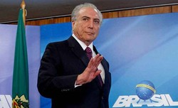 Ex-presidente Michel Temer vota em São Paulo (Foto: Beto Barata/PR)