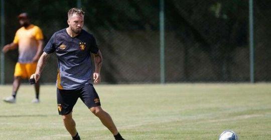 Falta de prazo concreto atrapalha rotina e carga de treinamentos, avaliou o jogador  (Anderson Stevens/ Sport Recife )