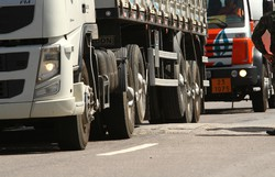 Caminhões terão que se cadastrar para acessar o Porto de Suape (Foto: Peu Ricardo/Arquivo DP)