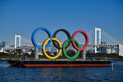 Primeiro evento-teste dos Jogos de Tóquio é adiado por dois meses (Foto: CHARLY TRIBALLEAU / AFP)