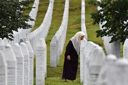 A agonia das viúvas de Srebrenica 25 anos após genocídio (Foto: ELVIS BARUKCIC / AFP)