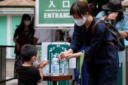 """Japão acusa China de """"desinformação"""" sobre o coronavírus (Foto: Kazuhiro NOGI / AFP)"""