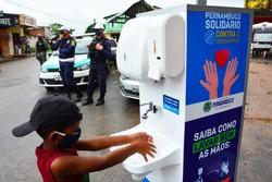 Camaragibe faz balanço de ações realizadas na quarentena mais rígida (Foto: Aline Sales/Divulgação)