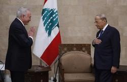 Temer se encontra com presidente libanês e entrega ajuda enviada pelo Brasil (Foto: STRINGER / AFP / DALATI AND NOHRA  )