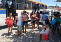 Muito movimento e pouca proteção na Ilha de Itamaracá (Foto: Peu Ricardo/DP.)