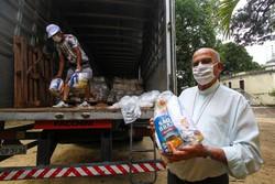 Arquidiocese recebe mais de mil cestas básicas para comunidades carentes (Foto: Bruna Costa/DP)