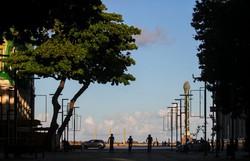 Covid-19: Taxa de isolamento social no Recife cai para 45%  (Foto: Bruna Costa/Esp.DP)