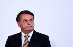 Agravamento da pandemia derruba popularidade de Bolsonaro, diz Datafolha (Evaristo Sá/AFP)