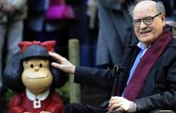 Morre o cartunista Quino, criador de Mafalda, aos 88 anos (Foto: AFP)