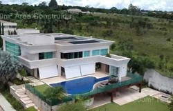 Valor de mansão de Flávio é bem maior que patrimônio declarado em 2018 (Foto: Reprodução)