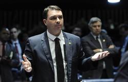Flávio Bolsonaro apaga post após paciente desmentir que não tinha Covid-19 (Foto: Roque Sá/Agência Senado)