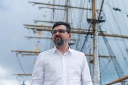 Jaime Alheiros assume a presidência do Porto do Recife (Foto: Marlon Diego/Divulgação)