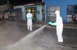 Covid-19 Prefeitura de Itapissuma desinfecta ruas e avenidas da cidade (Foto: Divulgação/ Prefeitura de Itapissuma)