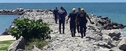 Duas pessoas foram detidas em Olinda durante força-tarefa em praias e parques (Foto: Divulgação Prefeitura de Olinda)