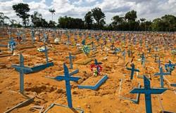 Brasil acumula 8,4 milhões e registra 61 mil novos casos de Covid-19 (Michael Dantas/ AFP)