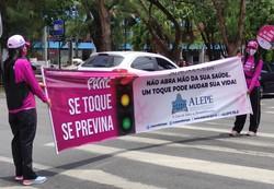 Alepe lança campanha contra o câncer de mama (Foto: Reprodução/Alepe)