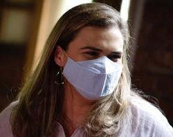 """""""Saúde não pode esperar"""", afirma Marília (PT) ao prometer a construção de três Centros de Medicina Diagnóstica no Recife (Foto: Ricardo Labastier)"""