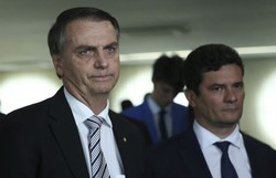 ''Graças a Deus ficamos livres dele'', diz Bolsonaro sobre Moro (Foto: José Cruz/Agência Brasil)