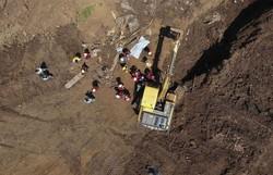 Bombeiros acham corpo que pode ser de vítima da tragédia de Brumadinho (Foto: Divulgação/Corpo de Bombeiros de Minas Gerais)