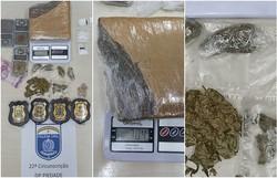 Homem é preso em flagrante com cocaína, maconha e ecstasy em Boa Viagem (Foto: Reprodução/PCPE.)