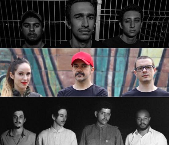 Fora das paradas, rock continua em renovação; confira quatro bandas recifenses (Divulgação/João Augusto/Sophia Lautert)