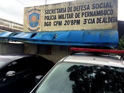 Batalhão da PM de Aldeia é reativado após parceria com a Prefeitura de Camaragibe (Reprodução WhatsApp)