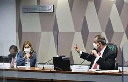 Mayra Pinheiro pede R$ 100 mil de indenização a Omar Aziz por danos morais (foto: Leopoldo Silva/Agência Senado)