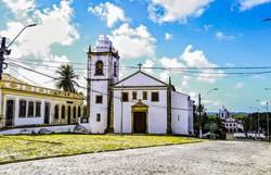 Matriz dos Santos Cosme e Damião recebe primeira etapa da sua estrutura restaurada  (Foto: Ivonildo Pedro/Secom)