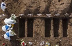 Covid-19: Brasil atinge 1.300 mortes pela 3ª vez e registra 41.857 casos em 24 horas (Foto: Martin Bernetti/AFP)