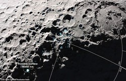 Nasa afirma ter encontrado moléculas de água na superfície da Lua ( Foto: Nasa)