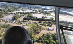 Ciclone pode causar tempestade e alagamento em vários pontos do país (Foto: Divulgação / Defesa Civil RS)