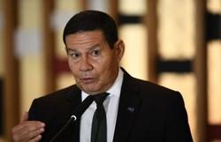 """""""Podia ser pior"""", diz Mourão sobre aumento de desmatamento (Foto: EVARISTO SA / AFP)"""