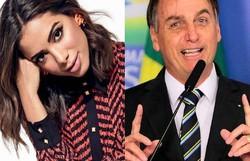 Anitta rebate ataques de bolsonaristas: 'Saem de motoca e pedem mais' (foto: Redes Sociais/Reprodução)