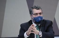 Ernesto Araújo afirma que buscou cloroquina no exterior a pedido da Saúde (crédito: Edilson Rodrigues )