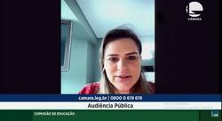 Marília Arraes discute cotas na pós-graduação durante audiência na Câmara