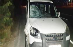 Uma pessoa morreu e outra ficou ferida após ser atropelada na BR 232, em Vitória de Santo Antão (Foto: PRF/Divulgação)