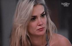 'Tenho certeza que eu vou sair', diz Marcela sobre paredão com Flay e Babu (Foto: Rede Globo/Reprodução)