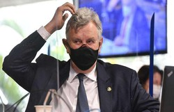 Na CPI, Heinze acusa G7 de agir por 'interesses políticos e econômicos' (foto: Agência Senado)