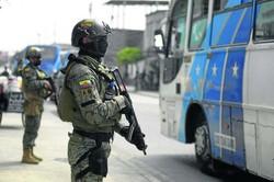 Em estado de exceção, cidades do Equador amanhecem tomadas por militares (Foto: Fernando Mendez/AFP)