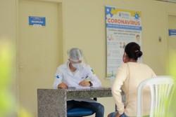 Olinda oferta mutirão de saúde no bairro de Rio Doce (Foto: Reprodução/Secom Olinda)