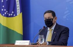 Mourão diz que meta é ''reduzir o desmatamento ao mínimo aceitável'' (Foto: Romerio Cunha/Brazilian Vice-Presidency/AFP )